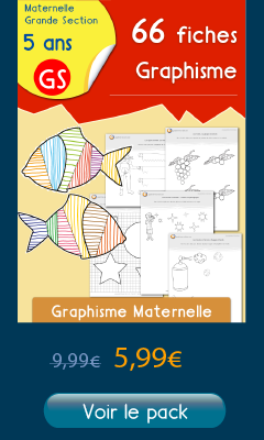 66 Fiches Graphisme Maternelle GS