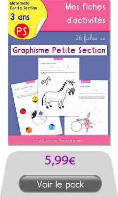 26 Fiches Graphisme Petite Section Maternelle